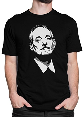 Bill Murray / Fan-T-Shirt / Komiker / Größe XS-5XL / Ideales Geschenk / Premium T-Shirt (4XL) (Ghostbusters Venkman Kostüm)