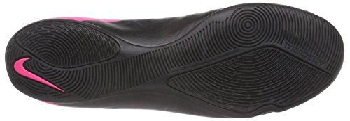 Nike Mercurial Victory V Ic, Chaussures de Futsal homme Noir - Schwarz (Black/Black-Hyper Pink-Hyper Pink 006)