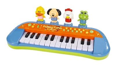 Simba Play & Learn 104012799 - Funny Farm-Teclado de Simba Toys