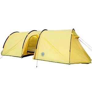 Travel Star Tunnel 6 - 420014 - Tente de camping tunnel - 6 personnes - 500 x 230 cm