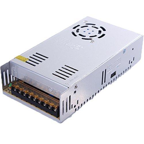 XKTTSUEERCRR 24V 15A 360W Trafo Transformator Adapter Netzteil Schaltnetzteil Stromversorgung für LED Beleuchtung 3D Drucker mit DC 24V 24v 10a Netzteil