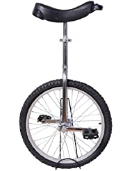 Monocycle/Vélo à une roue 20 pouces Charge maximale 70kg roue argent-noir neuf 24