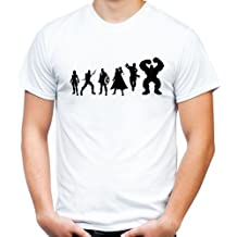 Evolution t-shirt film avengers heroes/kult/fun