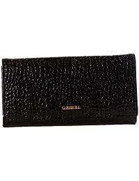 40f9232f2a2 Billetera de mujer Bolso de embrague del bolso del teléfono celular del  tenedor de la tarjeta de la textura de la piel de…