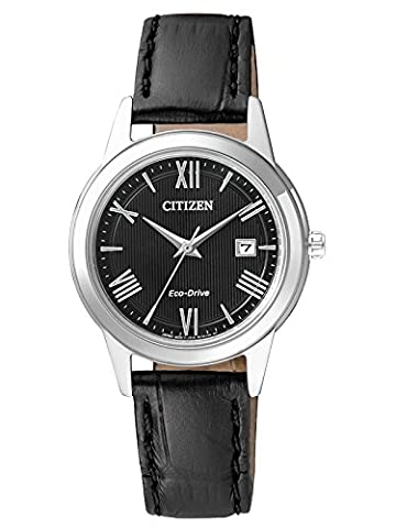 Citizen Damen-Armbanduhr Analog Quarz Leder FE1081-08E