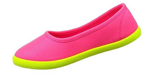 Damen-Schuhe Slipper | stilvolle Halbschuhe in verschiedenen Farben und Größen | Schuhcity24 | Freizeitschuhe Pink