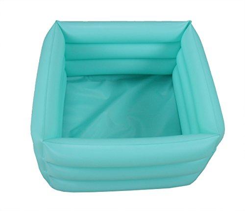 ObboMed® HB-1700 Bain pour pieds pliable , gonflable, portable pour voyage , spa pour pieds . Capacité 16.2L Dimensions 42x42x18 cm .