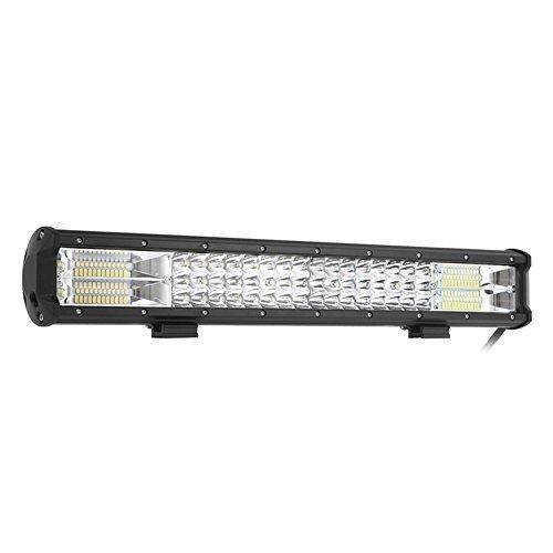 LED Light Bar, 288W Lichter Auto Scheinwerfer Flutlicht Spot Beam Combo Outdoor wasserdichte IP68Für SUV ATV Truck 4x 4Off Road Boot Offroad fahren Beleuchtung, 12V 24V
