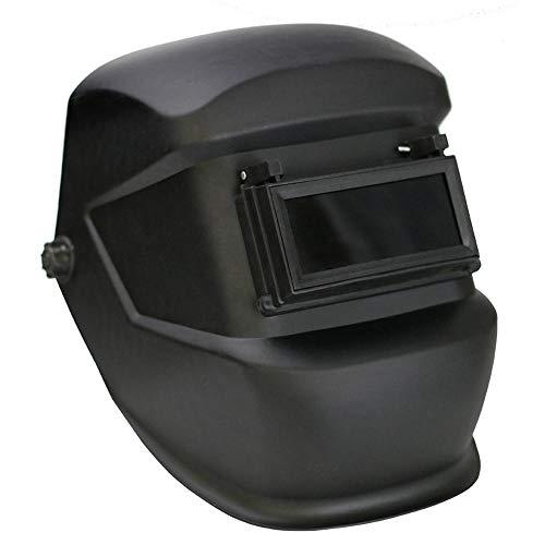 DokFin Universal-Schweißhelm, Anti-Schock, Schweißschutz, Schutzmaske mit Doppellinse