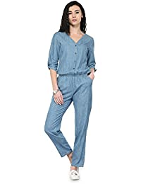 17a172f1e65 Amazon.in  3XL - Jumpsuits   Dresses   Jumpsuits  Clothing   Accessories