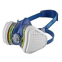 GVS-Elipse ABEK1-P3 Yarım Yüz Maske+ 1 çift ABEK1-P3 filtre