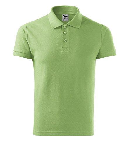 Dress-O-Mat Herren Poloshirt Shirt Polohemd Hell Grün