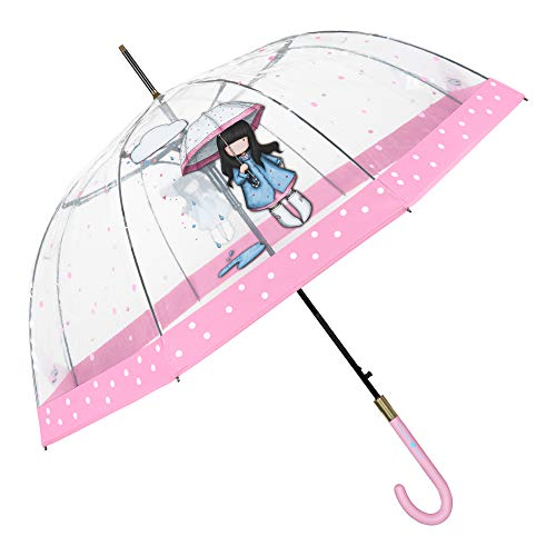 Santoro Gorjuss Paraguas Transparente Cupula Puddles