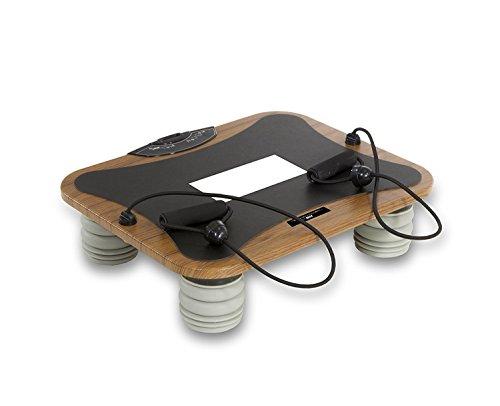 Tecnovita by BH Vibro Quick Pro Plataforma Vibratoria, Unisex Adulto, Madera / Negro, Talla Única