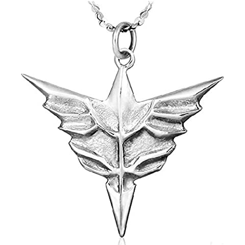 Andonger Mobile Suit Gundam UC Simbolo 925 collana in argento Sterling