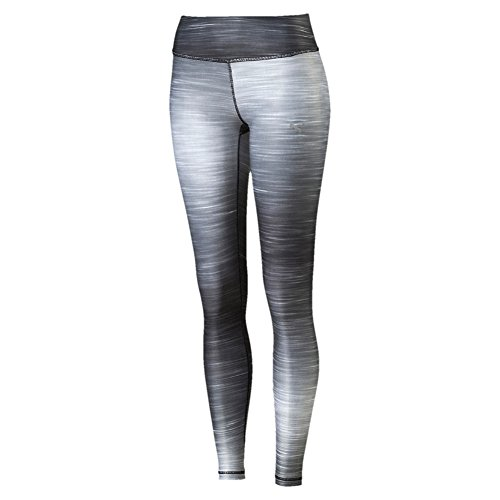PUMA Damen Hose ALL EYES ON ME Tights, black-glacier gray, L, 514491 10
