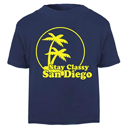 Stay Classy San Diego Anchorman Baby and Toddler Short Sleeve T-Shirt (Diego Baby Kostüm)