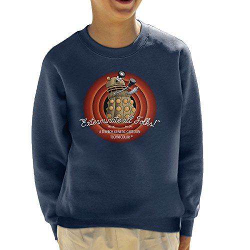loony-toons-doctor-who-exterminate-all-folks-kids-sweatshirt
