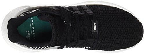 adidas Unisex-Erwachsene EQT Support 93/17 Sneaker Schwarz (Core Black/Core Black/Ftwr White)