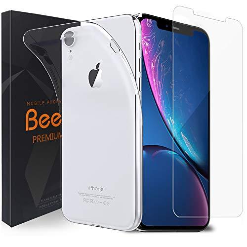 Beetop iPhone11 XI MAX Pro 6,5 Hülle + Panzerglas Set, Schutzhülle Schutzfolie Für Apple iPhone 11 2019 6,5