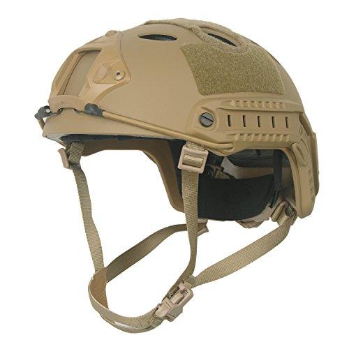 Airsoft Helm Braun Tan Taktisch FAST/Schnelle PJ Base Jump Us-Militär Helm für Paintball CS Spiel CQB Schießen