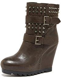 86491 tronchetto zeppa ASH GENESIS BIS scarpa stivale donna boots shoes women