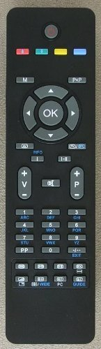 GENUINE VESTAL RC1825 TV REMOTE FOR HITACHI JMB CELCUS ALBA DIGIHOME LUXOR MURPHY & TECHWOOD