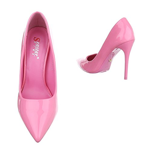 Ital-Design - Scarpe chiuse Donna Pink ZJ-08