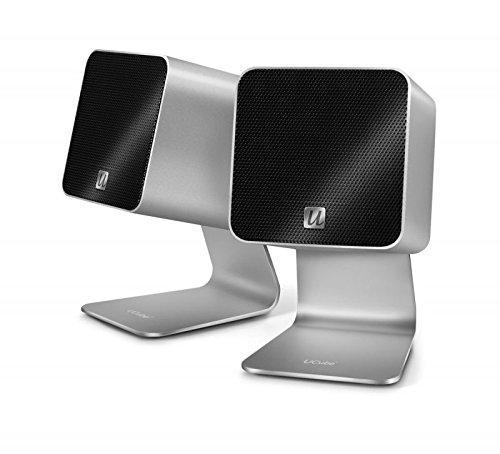 UltraLink UFi Ucube Tragbare Digital Lautsprecher USB 2.0 silber (Kabel Ultralink Digital)