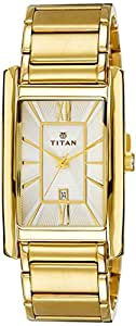 Titan Regalia Analog White Dial Men's Watch - 9280YM01