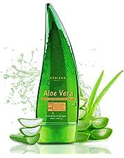 Cenizas 99% Pure Paraben Free Aloe Vera Gel Multipurpose for Skin and Hair, 130ml