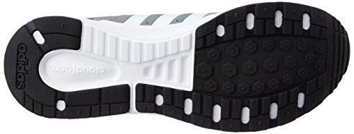 adidas Cloudfoam Saturn, Chaussures de Sport Homme, Orange Gris (gris / blanc Footwear / noir essentiel)