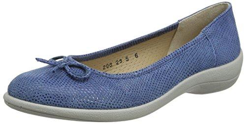 Padders Roxy, Peep-Toe femme Bleu (Bleu)