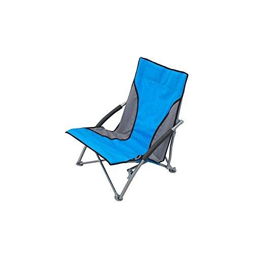 Spiaggina mare sdraio pieghevole oxford blu per campeggio spiaggia piscina giardino