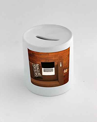 Money Box with Home Office