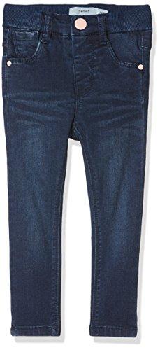 NAME IT Baby-Mädchen Jeans NMFPOLLY DNMTRILLE 3001 Pant NOOS, Blau (Dark Blue Denim), 80