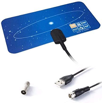 MPG Gear 50 Mile 4K HD Digital TV Antenne HD Verstärker für TV Koax Kabel HD Digital Antenne Booster Receiver Tv-booster-antenne