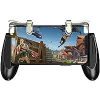 ZHANGMI Controladores de Juegos móviles PUBG Gamepad, Sensitive Shoot Aim Joysticks Physical Buttons L1R1 Diseño ergonómico Empuñaduras de Juego para Cuchillos/Reglas de Supervivencia