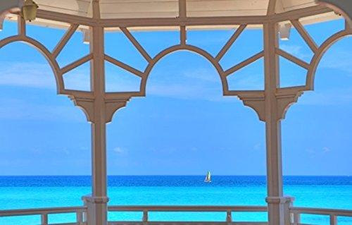 Art-Galerie Acrylglasbild Khandani 1 - HDR - WHITA Pavillion at A Carribean Beach - Varadero - Cuba...