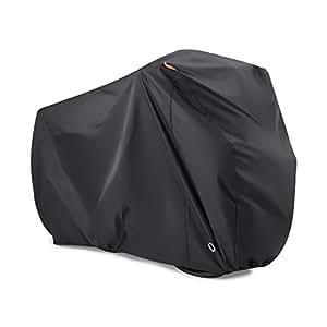 Bike Cover for 2 Bikes, Beeway® 190T Nylon Waterproof Bicycle Cover Anti Dust Rain UV Protection for Mountain Bike / Road Bike with Lock-holes Storage Bag