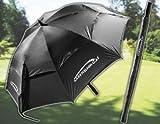 Gary Nelson Golf GDU-002 Golf Regenschirm schwarz