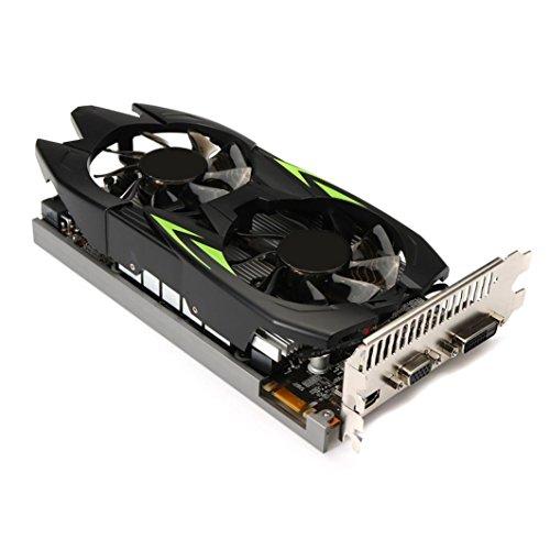 Hunpta@ GTX660TI Für NVIDIA GeForce,3GB GDDR5 192bit VGA DVI HDMI Grafikkarte (As Show) -