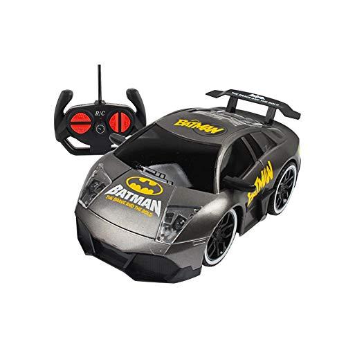 Hifuture kinder spielzeug auto,Superhelden-Typ Mini RC Auto Fernbedienung Micro Racing Auto Elektrische Spielzeug, Fahrzeuge Geschenk für Jungen Mädchen Kinder Kleinkinder(Batman)