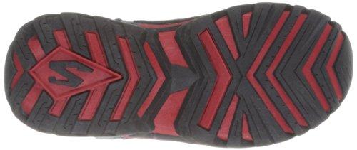 Skechers Pillar 2.0, Sneakers basses garçon Rouge - noir/rouge