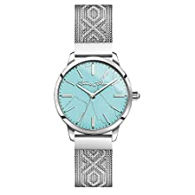 Thomas Sabo Womens Analogue Quartz Watch with Stainless Steel Strap WA0343-201-215-33 mm