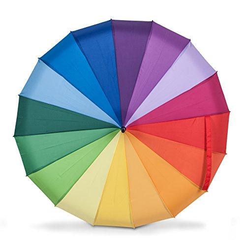 Abbott Collection 27-rainbow Rainbow Pagode Regenschirm