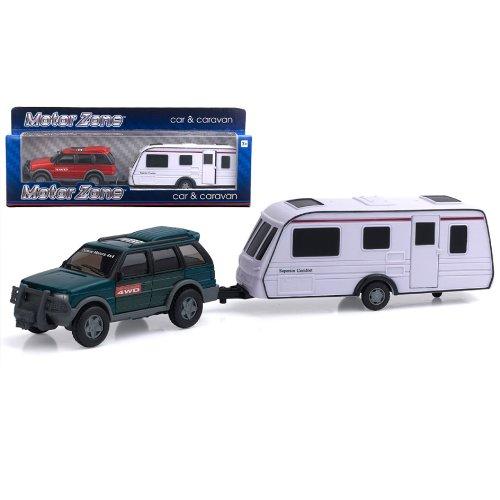 Preisvergleich Produktbild Motor Zone Auto und Wohnwagen sortierten Farben / Designs 1 aufgenommen nach dem Zufallsprinzip