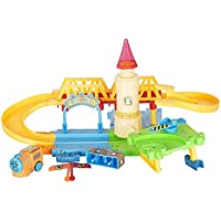 Munchkin Land Happy Train Paradise, 31 Pcs Music Track with Train Set for Kids