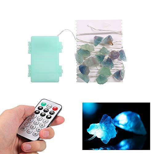 Lixada 30 LEDs Fairy String Light 3m / 10ft Batterie betrieben mit Fernbedienung Timer-Funktion Funkeln natürlichen Kristall dekorative Lichter für Schlafzimmer Festival Party Hochzeitsdekor -