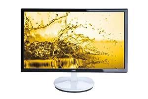 AOC E2243FW2 54,6 cm (21,5 Zoll) LED-Monitor (VGA, HDMI, 5ms Reaktionszeit) hochglanz schwarz-weiß